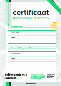 feedback training certificaat