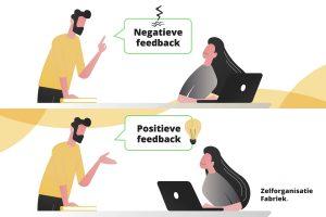 Positieve feedback vs negatieve feedback